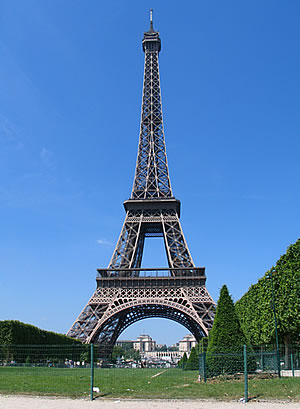 World travel popular places to visit in paris eiffel tower for Places to stay in paris near eiffel tower